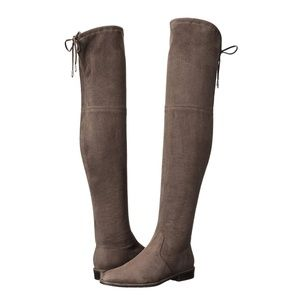 Marc Fisher Humor 2 Over-the-Knee Taupe Boots 6.5